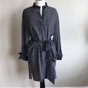 DVF Polka Dot Silk Dress